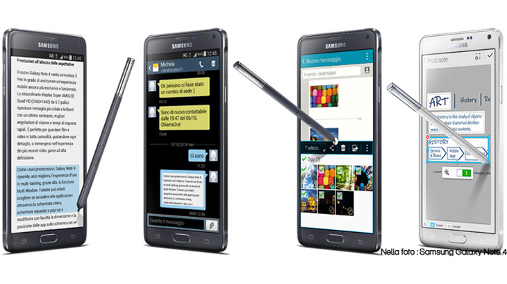 Quelli che... lo vogliono con lo stilo! Samsung Note 4 vs LG Stylus G4 vs Alcatel Hero 2