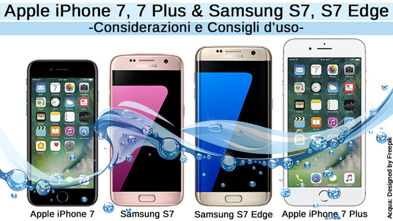 Apple iPhone 7 / 7 Plus vs Samsung S7 / S7 Edge